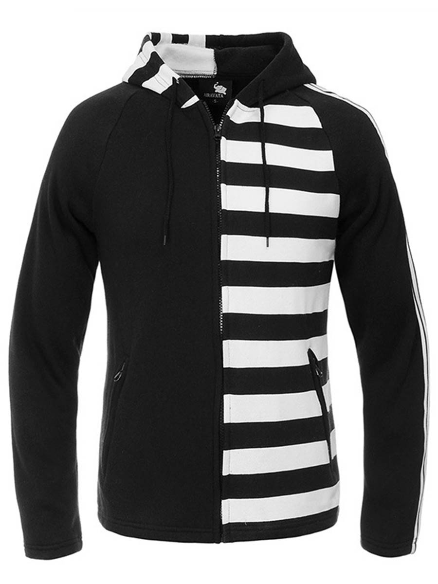 Online Get Cheap Striped Hoodie Mens -Aliexpress.com | Alibaba Group