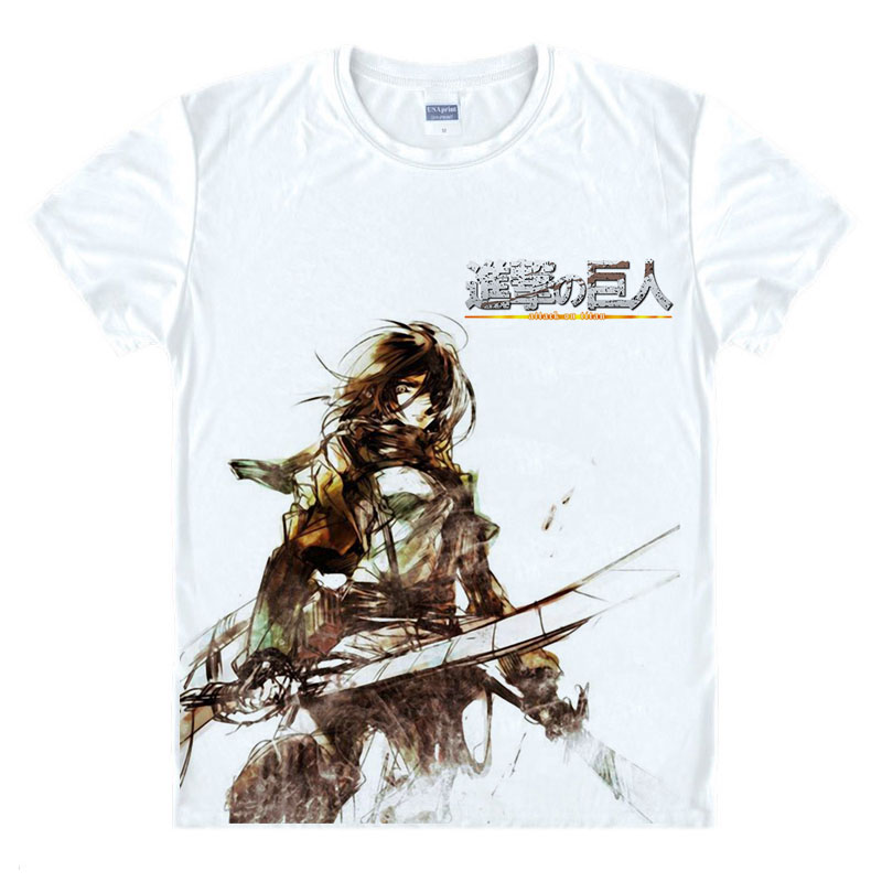 Japanse Anime T-shirt Scouting Legioen Kleding Shingeki Geen Kyojin - Herenkleding - Foto 4