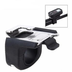 Image 1 - Tube Mount Set Buckle Remote holder clip for Remote of GoPro Hero 7/6/5/4 Session Blcak Action Camera Selfie Stick Accessories
