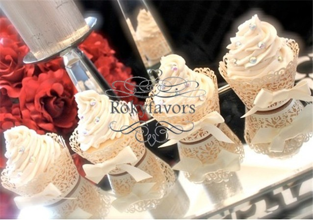 Free shipping70pcs lace cupcake wrapper wedding ideas for Aana decoration wedding accessories