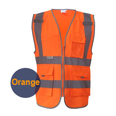 SFvest Building Construction Vest Safety Hi Vis Workwear Clothing Reflective Free Shipping In From