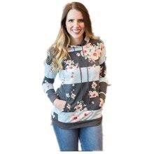 цена women hoodies sweatshirts ladies autumn winter fall clothing sweat shirts print festivals classics elegance hoodies онлайн в 2017 году