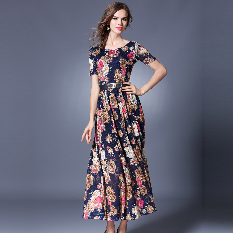 Lace dress New Arrivals 2017 Summer dress Fashion Casual