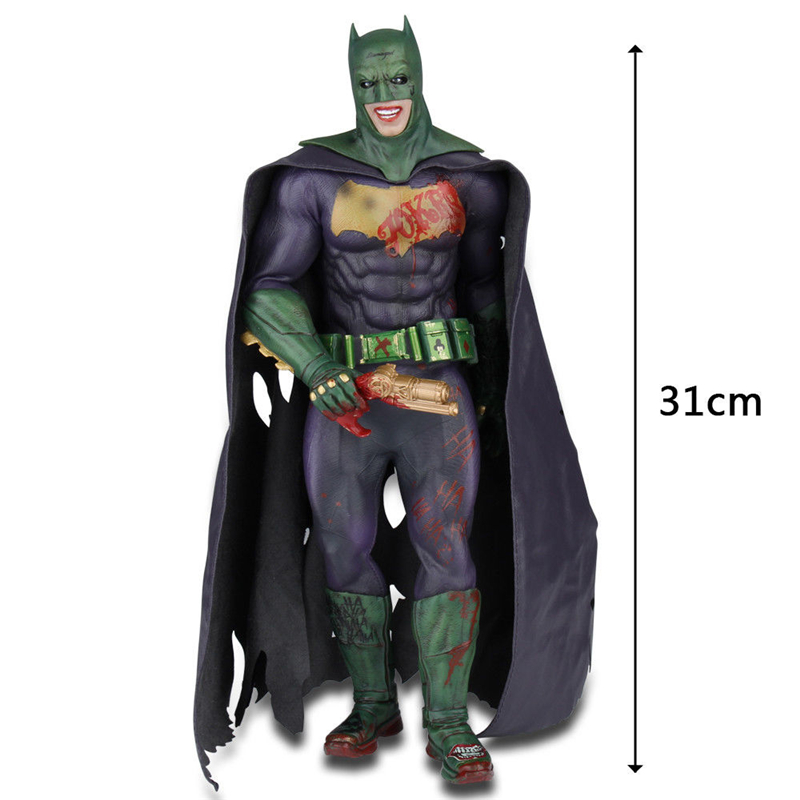 Cuifuli Suicide Squad Joker Action Figure Crazy Toys Batman Imposter Ver. Joker PVC figure Toy Brinquedos Anime 27CM With Box batman joker action figure play arts kai 260mm anime model toys batman playarts joker figure toy