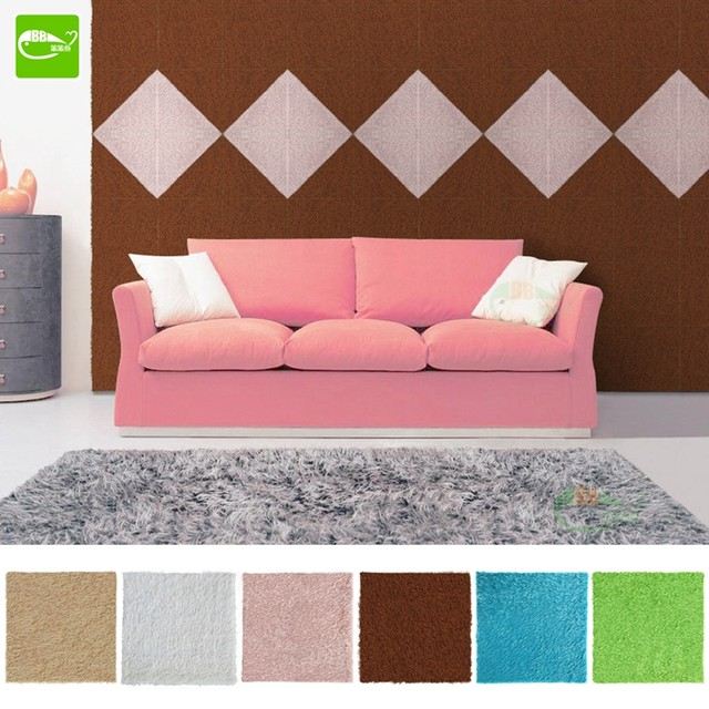 Online Shop 30*30cm Velvet Flock Wallpaper 3D Soft Bag Anti-Crash ...