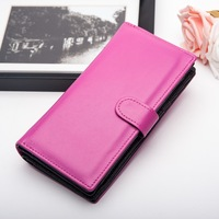 Andralyn Candy Color Big Capacity Women Wallets Real Leather Lady's Long Purse with Zipper Phone Pouch Money Bag Billetera Mujer