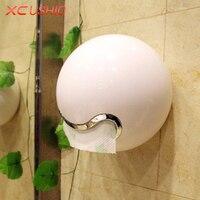 Yaratıcı Duvara Monte Doku Saklama Kutusu Banyo Tuvalet Su Geçirmez Doku Tutucu Asılı Peçete Konteyner Vaka