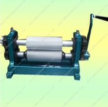 Hand Crank /Manual bee wax foundation printer  machine 86*250mm
