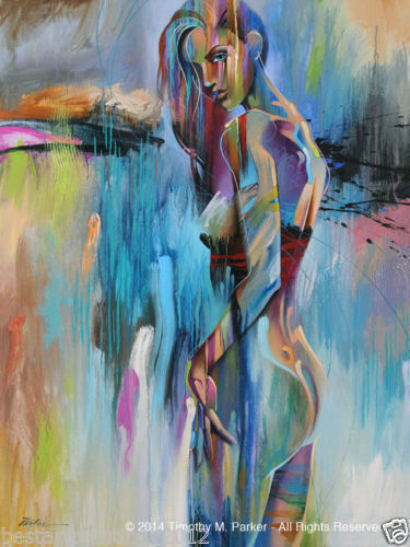 CANVAS OIL PAINTING MODERN ABSTRACT WALL DECOR ART<nude Woman 24x36(NO FRAME)CANVAS OIL PAINTING MODERN ABSTRACT WALL DECOR ART<nude Woman 24x36(NO FRAME)