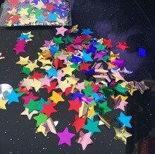 5pack Wedding Party Prom Transparent Balloon Decoration Throw Confetti Pentagram Star Sequin For Desktop Display