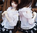 1/3 SD10/SD13/SD16 DD DY 16 девушка BJD SD Кукла аксессуары Bjd одежды белого шифона рубашка