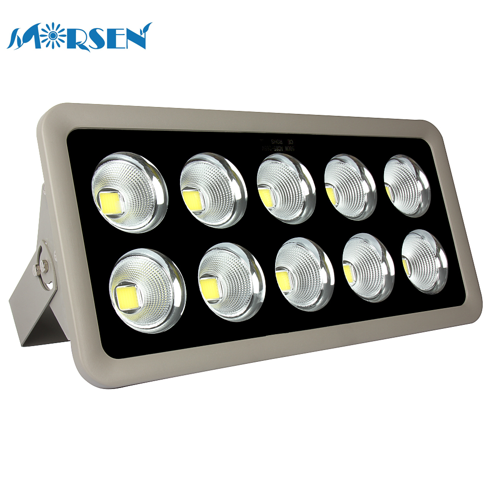 6pcs Projector LED Light LED Flood Light COB 200W 300W 400W 500W Led Floodlight Spotlight AC85-265V Warm/Cold White Wall Lamp#22 ultrathin led flood light 200w ac85 265v waterproof ip65 floodlight spotlight outdoor lighting free shipping