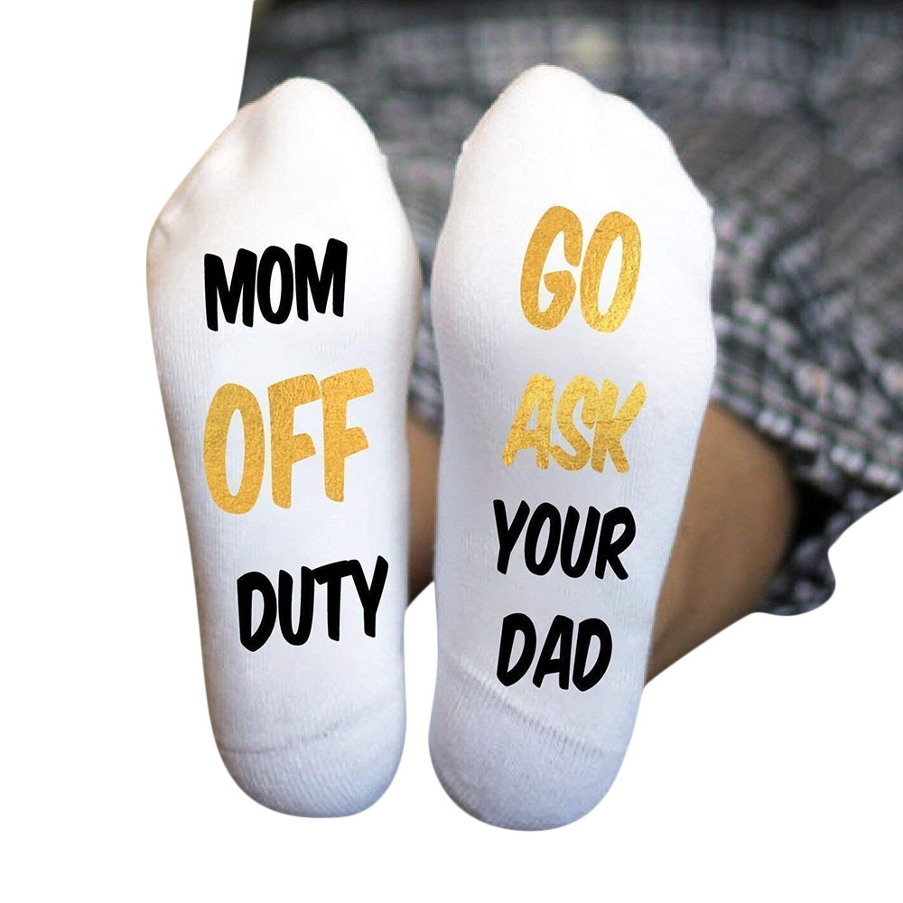 IF YOU CAN READ DO NOT DISTURB Cotton Socks