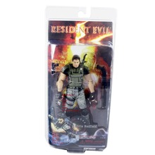 Hot Resident Evil Chris Redfield 18cm/7″ Action Figure Collectible New in Box Free Shipping
