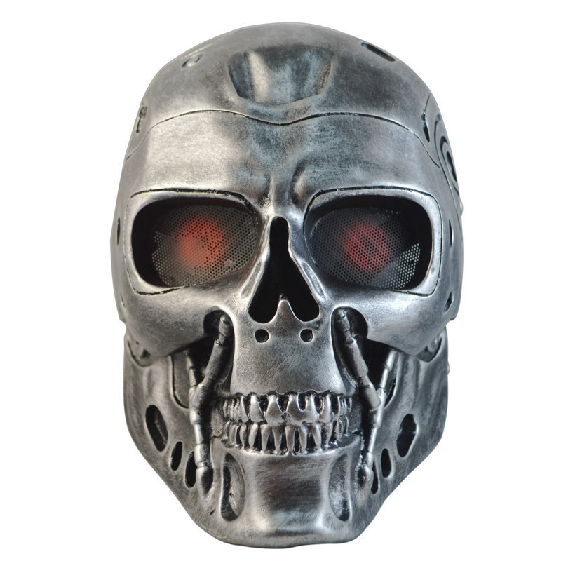 Terminator mask Full Face Survival CS Wargame Field game Airsoft Mask Cosplay Terminator Skull Military Army mask