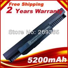 Bateria de Substituição Laptop para Asus K53 K53b K53by K53br K53e K53s K53sc K53tk K53ta K53u K53z K53t Frete Grátis
