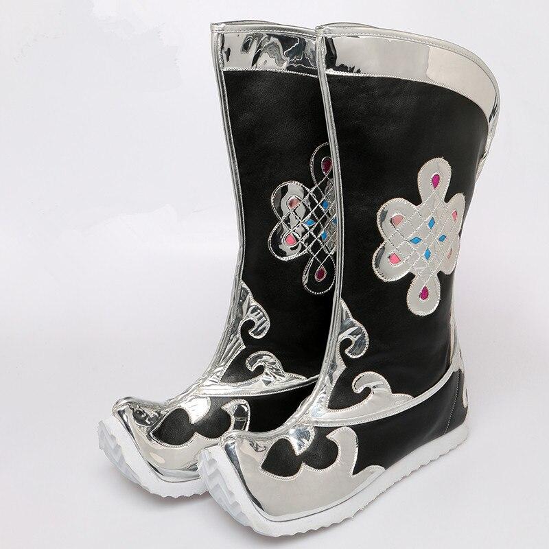 men national dance shoes mongolian clothes mongolian clothing accessories for men mongolian boots mongolian shoes