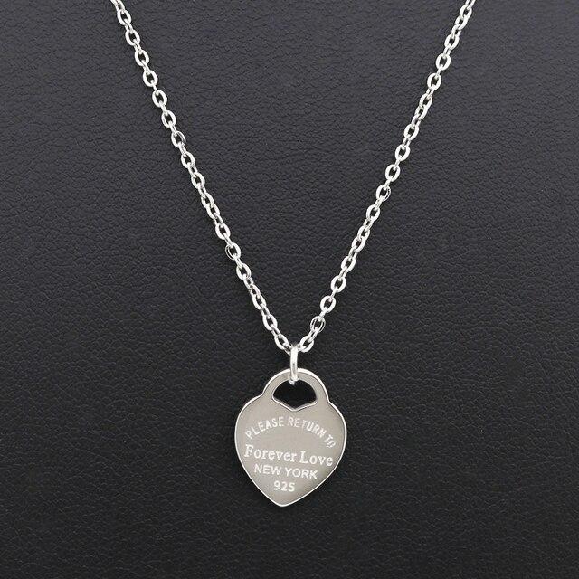Модные роскошные от известной марки любовный ожерелье для женщин