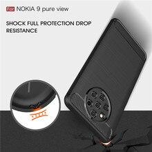 For Nokia 9 Pure View case Carbon Fiber