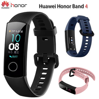 Original Huawei Honor Band 4 Smart Wristband Amoled 0.95 Touchscreen Swim Posture Detect Heart Rate Sleep Snap Fitness Bracelet