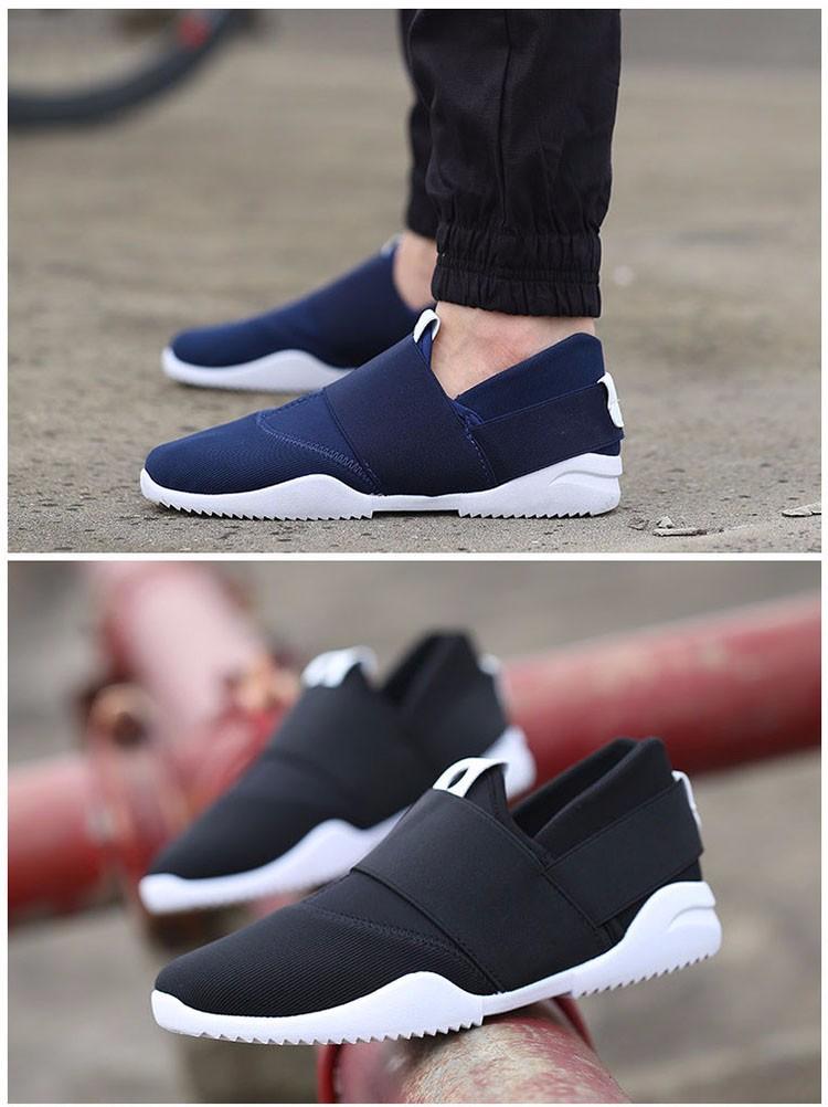 Hellozebra Men Casual Shoes Breathable Board Flats Soft Shoe Set Foot A Pedal Lazy Tide Mesh Students Shoes 2016 Autumn New  (11)
