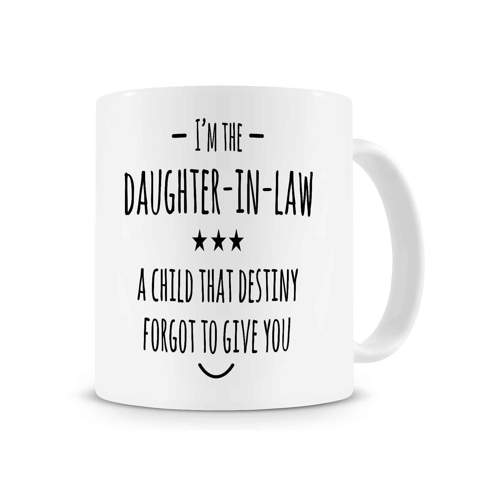 Detail Feedback Questions About Im The Daughter In LawCoffee Mug