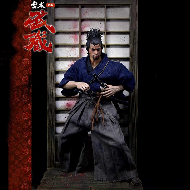 Lengkapi Koleksi 1/6 Skala Miyamoto Musashi 2.0 Standar Ver. 12 ''Male Action Figure Boneka Mainan Hadiah Deluxe/Biasa Edition