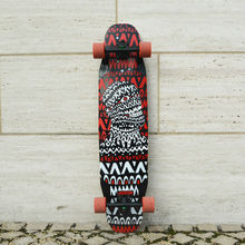 KOSTON pro 2015 new style longboard completes with bamboo and glass fiber hybrid material. 2015 long skateboard completed set