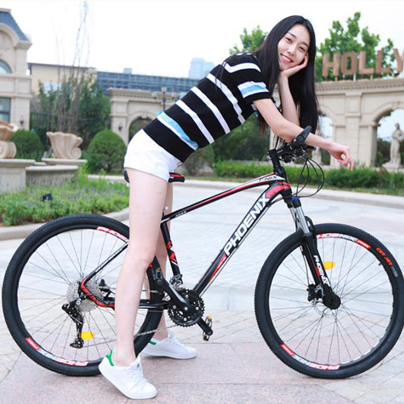 Adult Mountain Bike Men And Women 21 Speed 26 Inch Variable Speed Student Two-disc Shock Absorber Bicycle