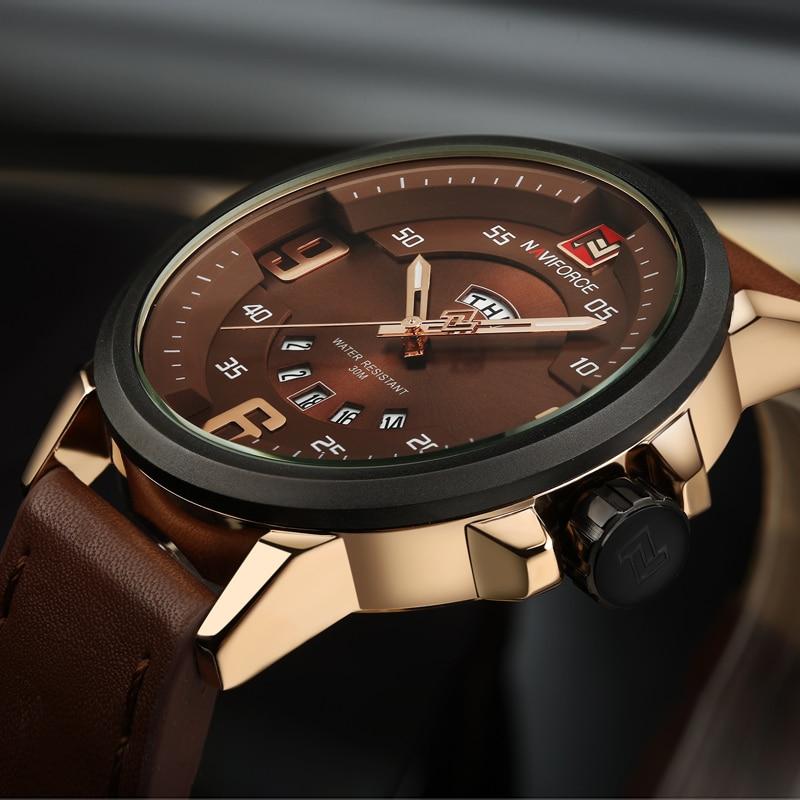 Prix pour Montres Hommes Marque De Luxe Montre Sport En Cuir de Quartz Horloge Hommes Sport Montres Hommes Militaire Montre-Bracelet Relogio Masculino 2016