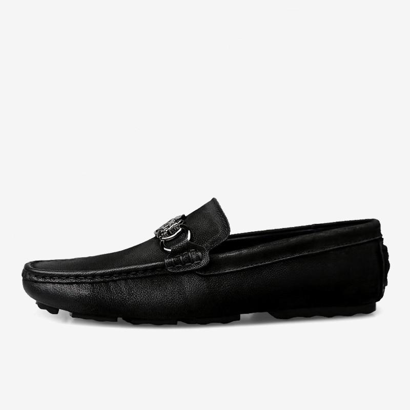 respirant Mou vin Noir Chaussures De Marque Véritable Confortable En Nubuck Mocassins Fond Tissu Cuir Mycoron Conduite Luxe Mode Hommes Rouge 29WEDHIY