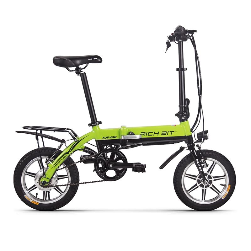 richbit mini folding electric bike 36v 250w lithium battery electric bicycle folding electric. Black Bedroom Furniture Sets. Home Design Ideas