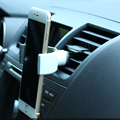 New universal air vent celular car holder para iphone 5 5s 6 6 s 6 + 6 s + abs durável stand cradle para xperia z2 z3 z4 z5 móvel