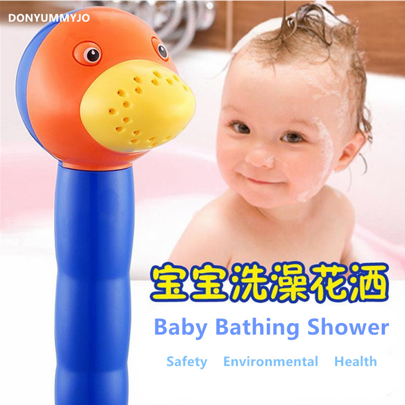 DONYUMMYJO Safety And  Environmental Health Shower Head, Children Baby Dedicated Bathroom Shower Hand Shower Faucet Accessories