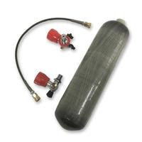 Acecare PCP бак для пейнтбола углеродного волокна цилиндра Воздушный баллон 3L 300bar 4500psi композитный баллон с клапаном и АЗС