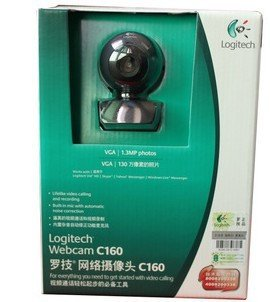 Logitech Webcam C160-in Webcams from Computer & Office on