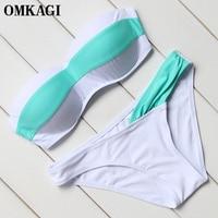 OMKAGI Brand Bikinis Set Swimsuit Swimwear Women Beachwear Swim Suit Swim Wear Sexy Bikini Bathing Suit