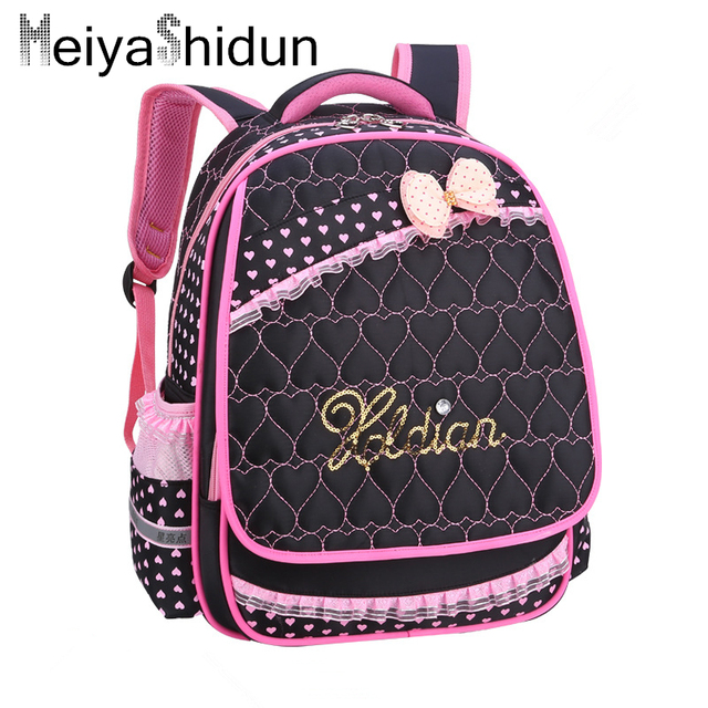 399c9341683c Meiyashidun Girls schoolbag cartoon backpacks Children Princess School Bags  Girls Kindergarten Backpack New Baby kids studen