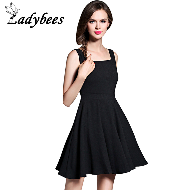 Aliexpress Buy Ladybees Little Black Dress Plus Size Summer