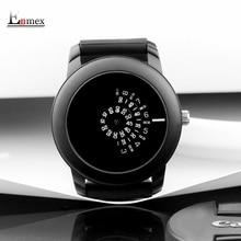 2017 cadeau Enmex style créatif hommes montre-bracelet noir caméra concept conception fraîche silicone bande brève montre à quartz occasionnel