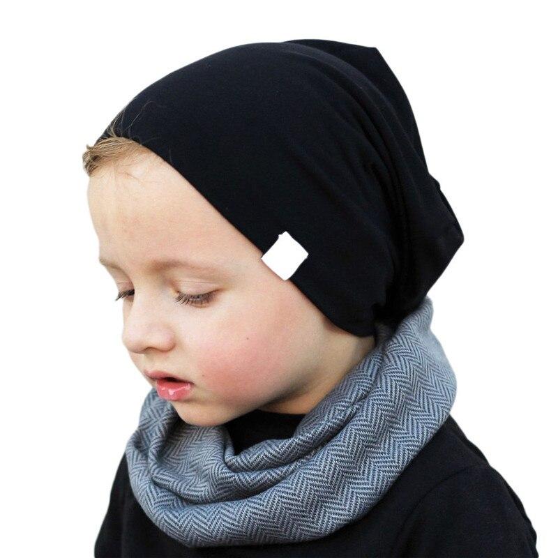 #5 Dropship 2018 Neue Heiße Mode Kleinkind Kinder Baby Jungen Mädchen Kind Baumwolle Weiche Warme Mütze Cap Beanie Freeship Hohe Sicherheit