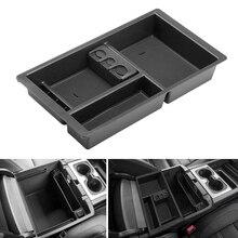 Car Central Console Armrest Box Storage Box Armrest Box Tray For Chevrolet Tahoe Suburban Silverado Gmc Sierra Yukon