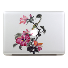 Removable DIY Avery waterproof big rose flowers tablet sticker and laptop computer sticker for laptop,205*270mm
