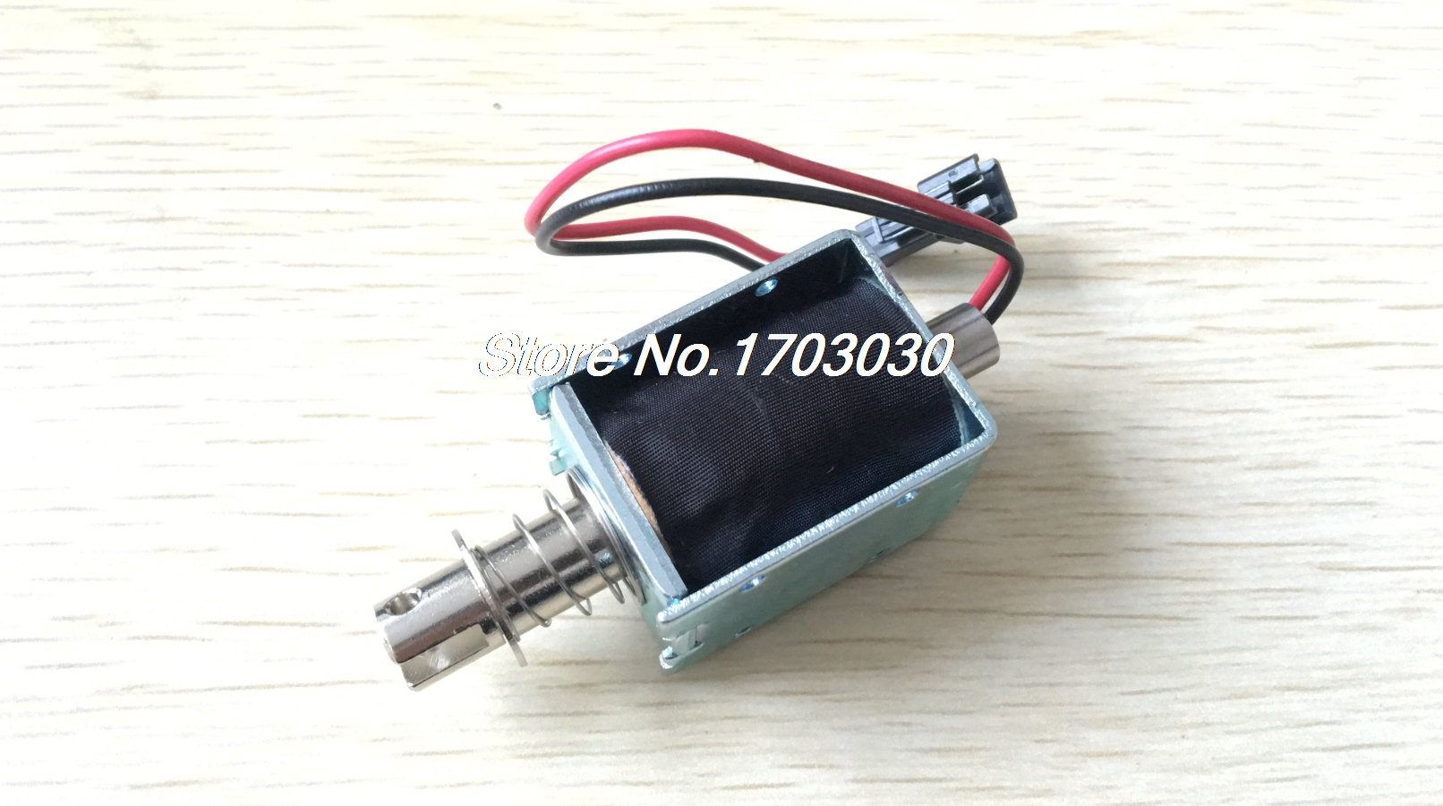 цена на DC 24V 960mA 2.1N 15mm Pull Push Type Open Frame Actuator Solenoid Electromagnet