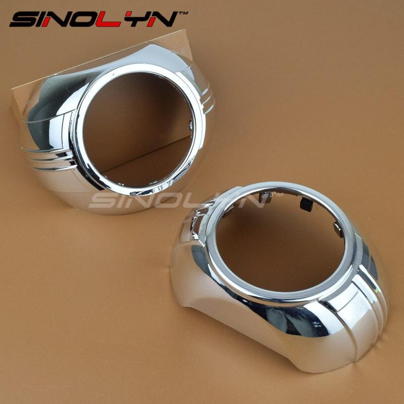 Haute température résistant Cyclopss Smax oculaire 2.0 carénages Bezels masque capots pour 2.5 pouces ou 3.0 pouces WST Q5 E5 projecteurs lentille