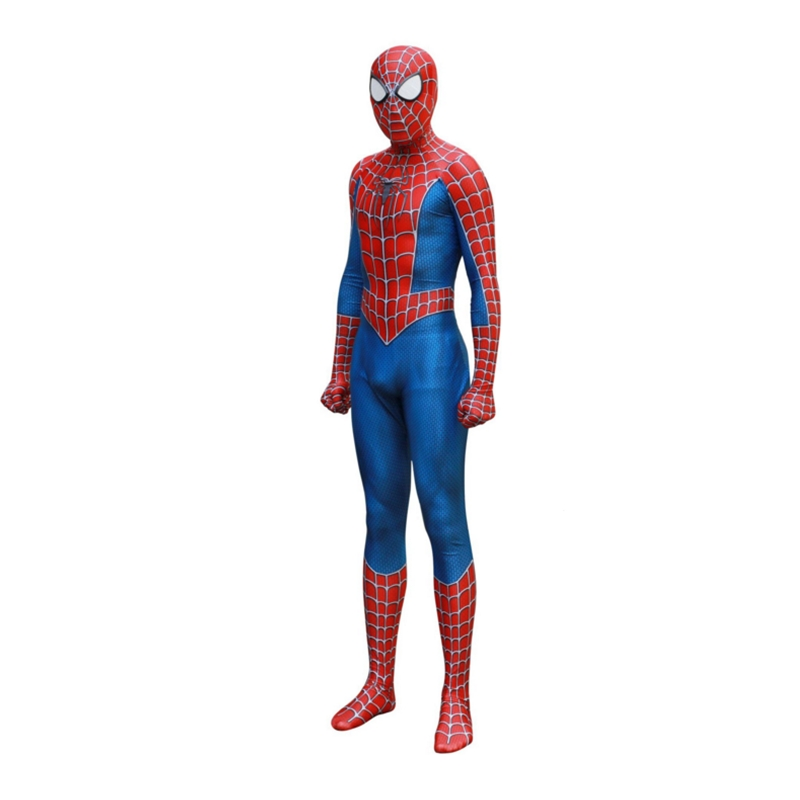 Adult Classic Remitoni Spider-Man Cosplay Siamese Tights Halloween Costume