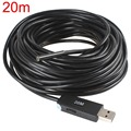 Hot Sale Waterproof Mini 20m USB 5.5mm Lens Endoscope Inspection Camera 1/9 CMOS Borescope Snake Tube Camera with P2P