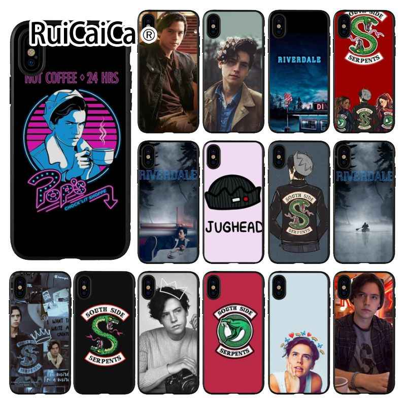 Ruicaica American TV Riverdale Customer High Quality Phone Case for Apple iPhone 8 7 6 6S Plus X XS MAX 5 5S SE XR Mobile Cover