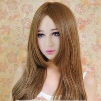 (Rose)Handmade silicone Half Sexy Female Face DMS Mask Cosplay Crossdresser DOLL