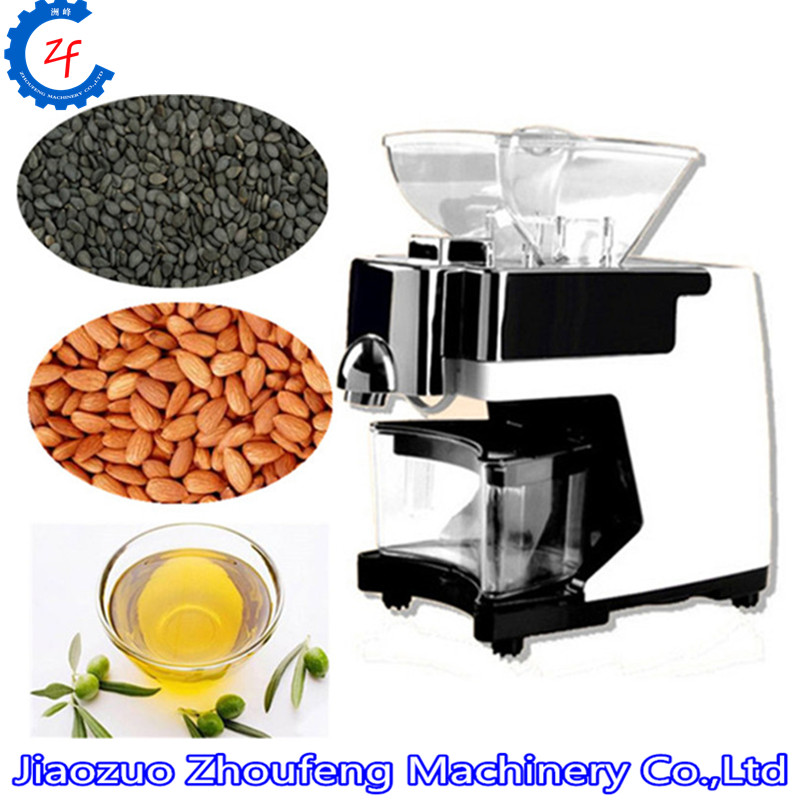 Home press machine cold press coconut almond seeds squeeze machine extractor ZF
